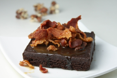 Bacon Brownie? Why not?